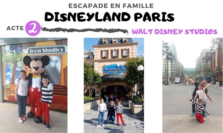 Walt Disney Studios : visite en famille