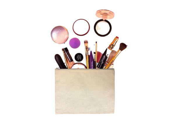 Pochette zippée bio - Maquillage