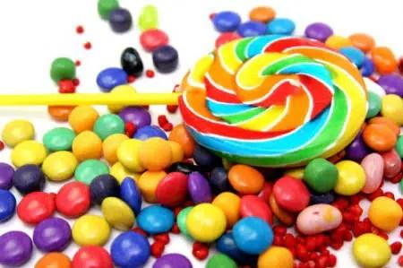 El niño y los dulces. Fábulas infantiles