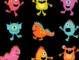 monstruos infantiles