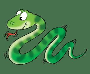 Poemas infantiles de serpientes