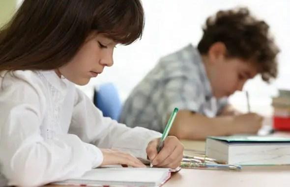 La escritura en la escuela