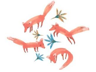 El zorro y su comadre. Cuentos de los hermanos Grimm
