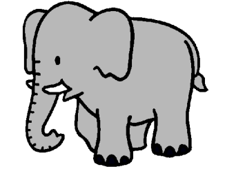 Rimas de elefantes para niños