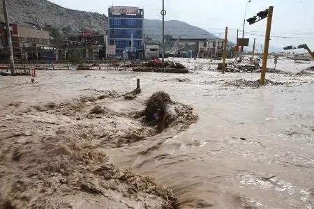 Relato de la inundación en Perú