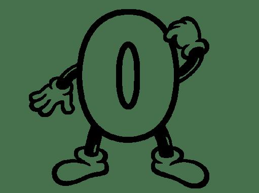 Cuentos infantiles del numero cero