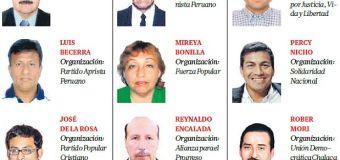 Candidatos Elecciones Distrito Mi Perú, Callao