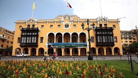 MUNICIPALIDAD DE LIMA, PERU, UBICADO EN LA PLAZA DE ARMAS DEL MISMO NOMBRE