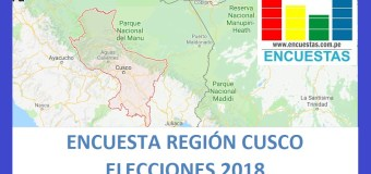 Encuesta Región Cusco – Agosto 2018
