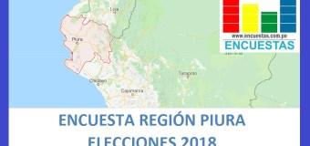 Encuesta Gobierno Regional de Piura – Enero 2018