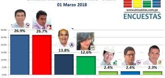 Encuesta Online Alcaldía de Puente Piedra – 01 Marzo 2018