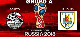 Mundial Rusia 2018: Encuesta Pronóstico, Egipto vs Uruguay