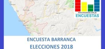 Encuesta Alcaldía de Barranca – Agosto 2018