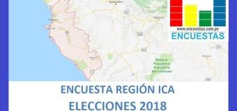Encuesta Gobierno Regional de Ica – Setiembre 2018