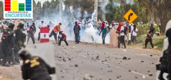 Sur: A 36% cae la aprobación de Vizcarra por conflicto de Tía Maria, según Ipsos