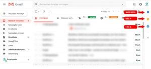 Gmail 2018, nouvelles icônes : Task, agenda et Keep