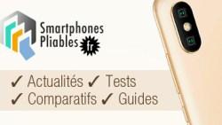 webzine d'actualité sur le smartphone pliable