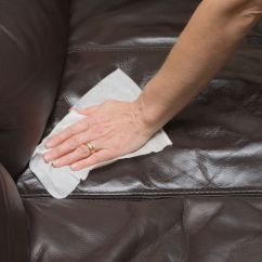 Clean Leather Sofa With Damp Cloth Royal Blue Pillows How To Professionally Household Products Cleaning