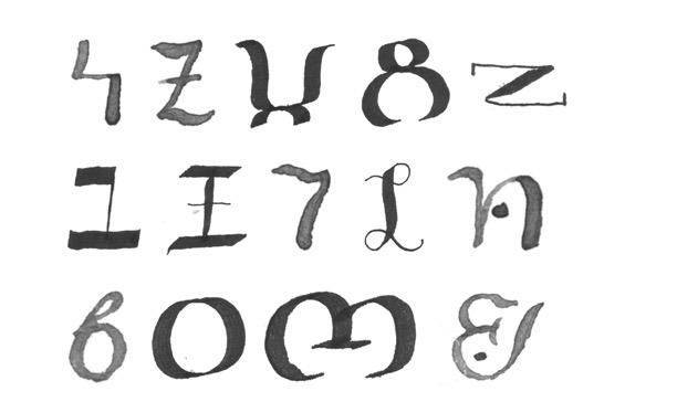 Bassa Vah : Atlas of Endangered Alphabets