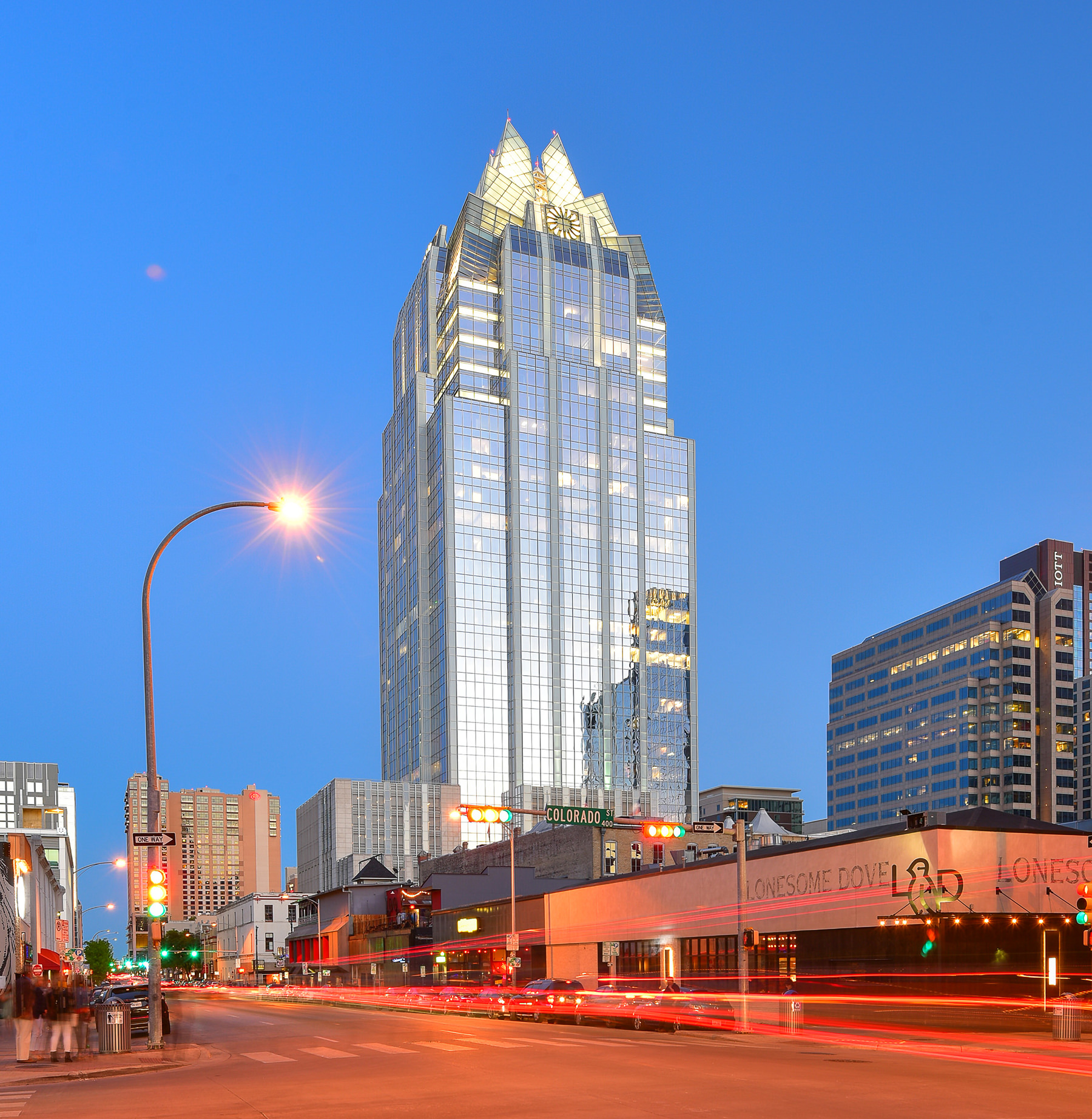 Frost Bank Tower  Properties  Endeavor Real Estate Group