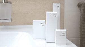 ALDA hotel cosmetics line White Accessories