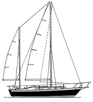 Endeavour 37 Ketch Design History and Boat Specifications
