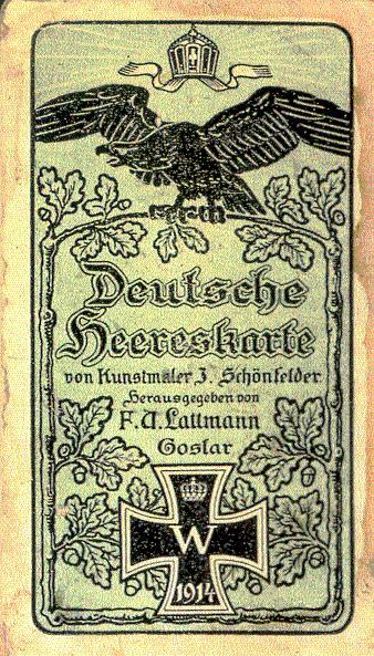 Deutsche Heereskarte