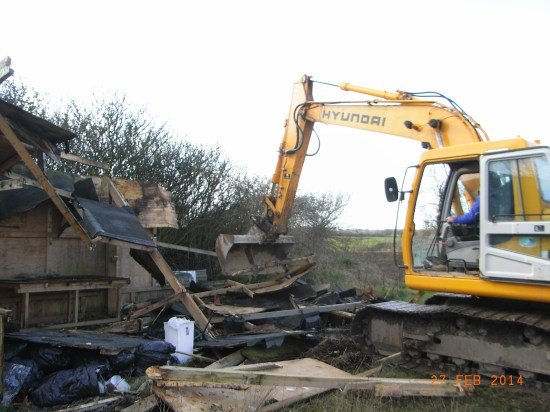 digger at Elmsthorpe