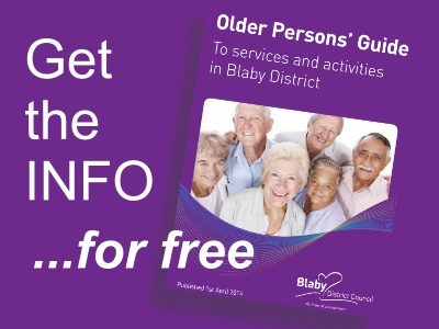 photo: Older Persons Guide Leaflet