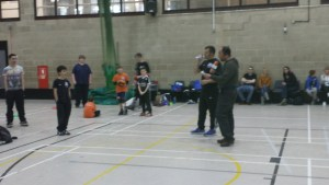 Ady Dayman at Enderby Junior Dodgeball Club