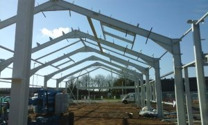Blaby DC new depot under construction