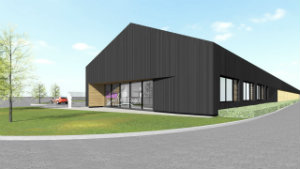 Blaby DC new depot - artists impression