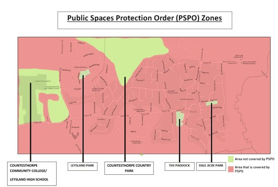 Public Space Protection Order Zones