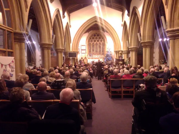 Enderby Band perform Xmas Concert