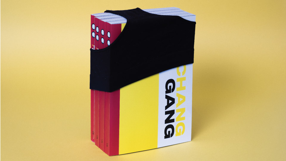 Endformat Designstudio. Design in Konstanz am Bodensee. Chang Gang. Print Design