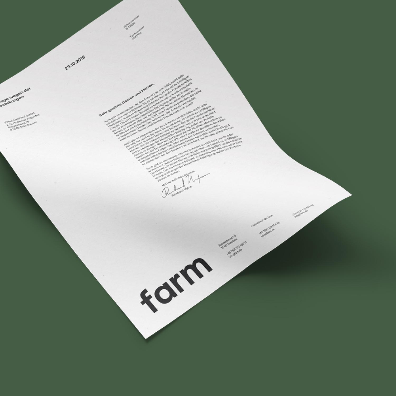 farm Konstanz. Designstudio Endformat. Design in Konstanz am Bodensee