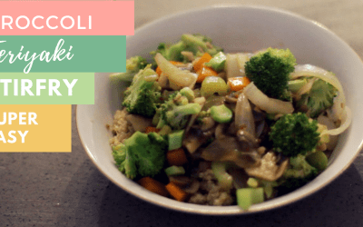Broccoli Teriyaki Stir Fry (vegan)