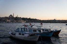 Abenddämmerung in Istanbul