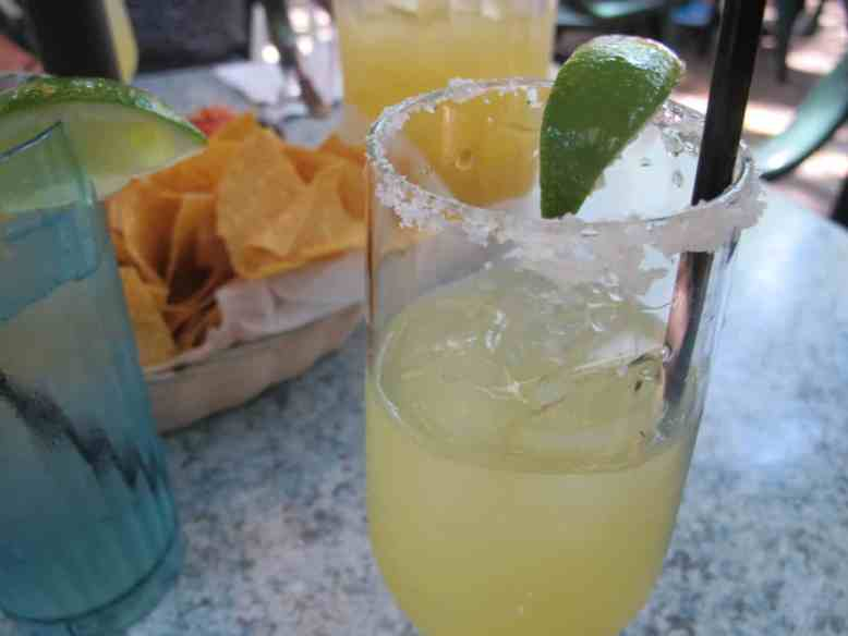 Key Lime Margaritas...your gluten free equivalent of Key Lime Pie ;)