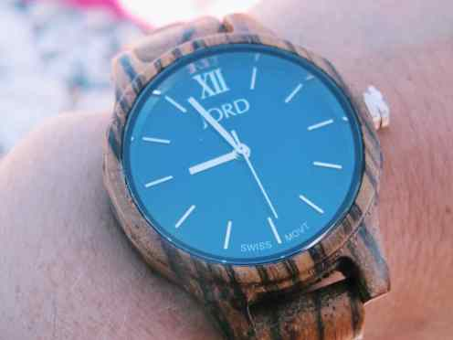 Less Scrolling, More Traveling with JORD Watches (+Giveaway!)