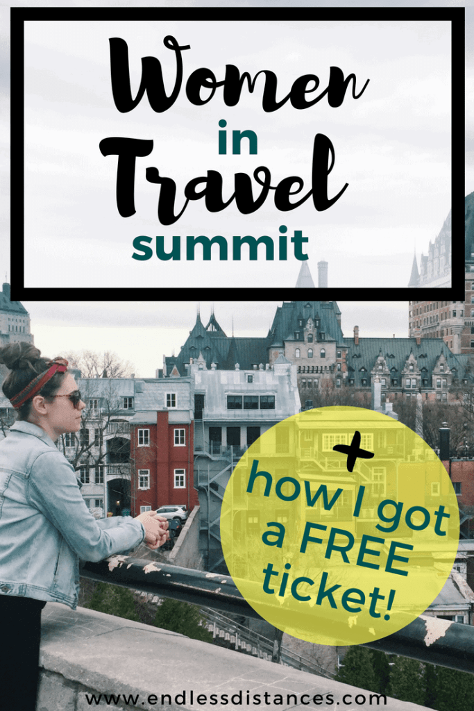 In this Women in Travel Summit review I share my experience at Women in Travel Summit and how to get a FREE ticket to Women in Travel Summit. WITS is perfect for any travel blogger looking to improve, learn, and network! #WITS18 #womenintravelsummit #travel #quebeccity