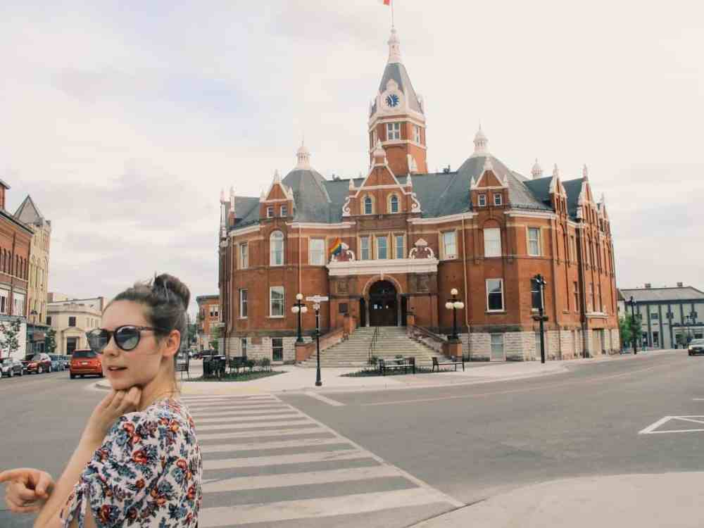 People flock from all around the world to the Theater Festival, but are there other things to do in Stratford Ontario Canada besides the theater festival? Here are seven of the most unusual and unexpected things to do in Stratford Ontario Canada, from a photoshoot with vintage costumes, to a foraging tour, and more. #stratford #stratfordontario #stratfordontariothingstodo #stratfordcanada #travel #canada #ontario