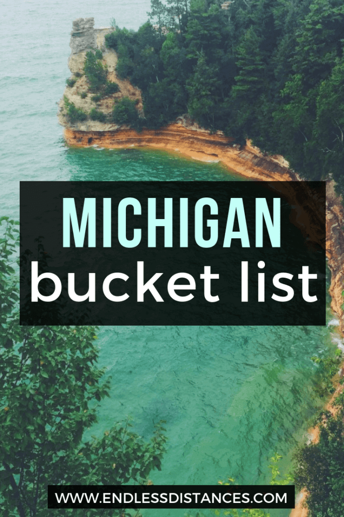 Check out this Michigan bucket list full of quirky travel tips. Including the best Michigan hotels, tours, restaurants, outdoor experiences, and more! #michigan #puremichigan #michiganbucketlist #travel