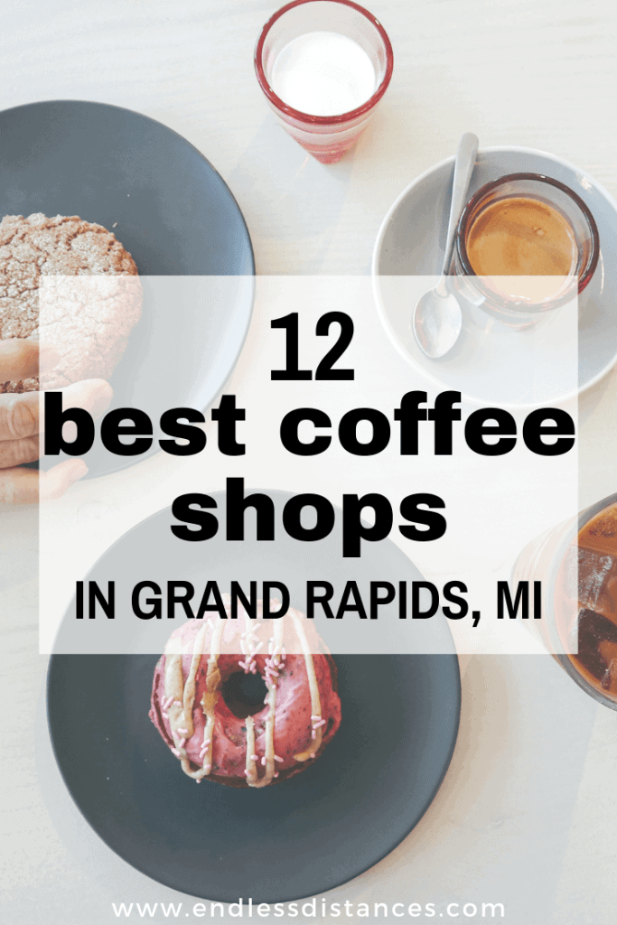 The Grand Rapids specialty coffee scene is exploding right now. Read this post for the 12 best coffee shops in Grand Rapids. #grandrapidscoffee #specialtycoffee #grandrapidsmichigan #coffeeshopsingrandrapids #grandrapids
