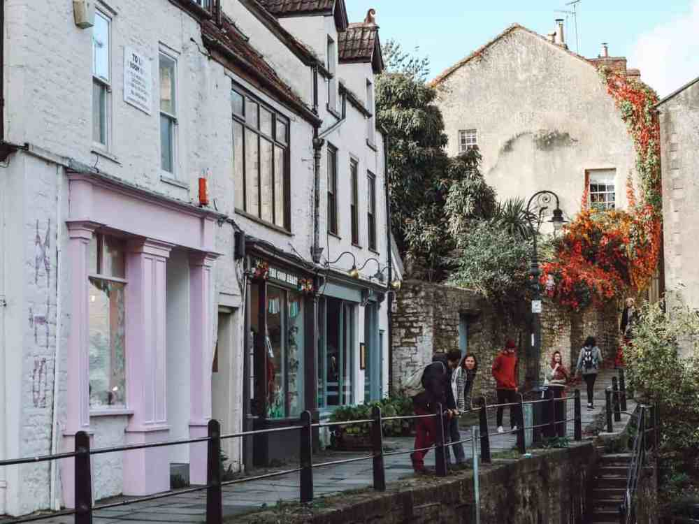 A street in Frome Somerset