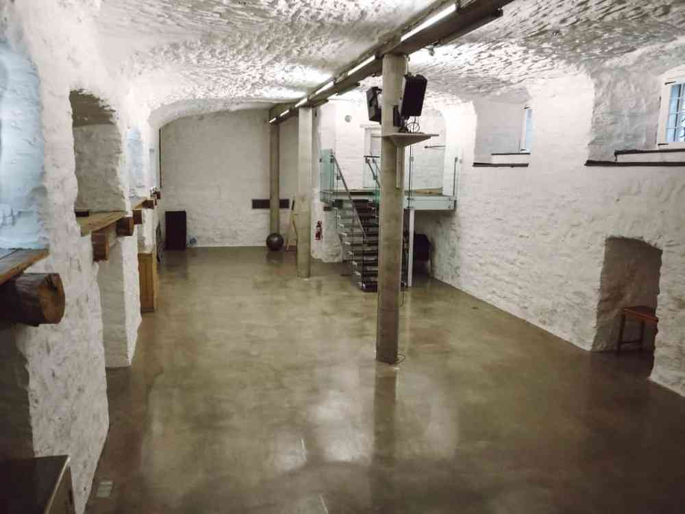 The ancient vaults of Le Monastere des Augustines have been refurbished and are now home to daily yoga and tai chi classes.