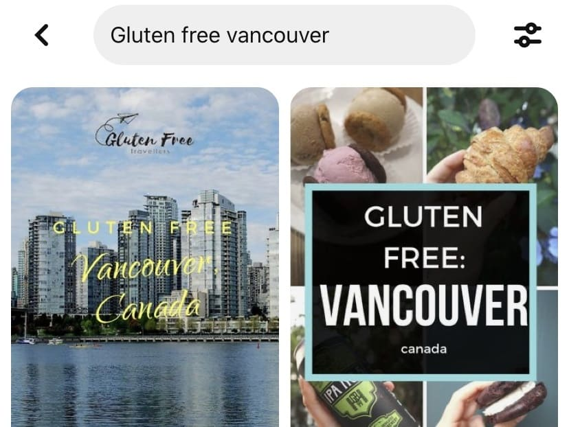 Gluten free vancouver search on pinterest