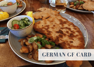 German GF card