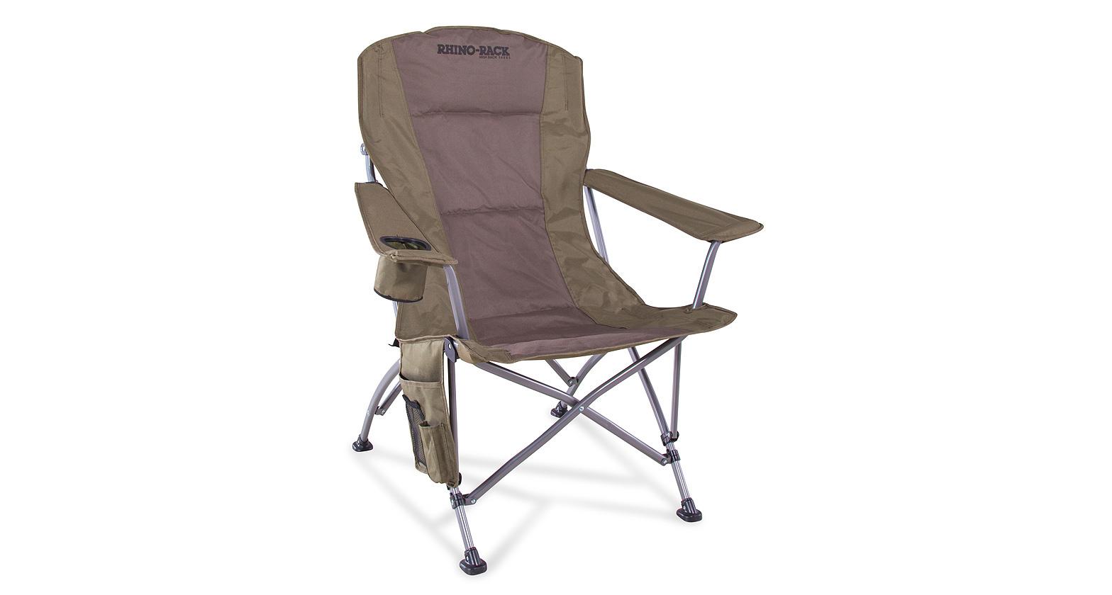 folding chair storage hooks gym bench rhino rack high back camping