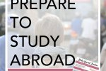 Studying abroad is exciting but often overwhelming! Click through to read these great tips on how to prepare to study abroad. Plus, get a super helpful timeline that will share with you all you need to do and when!